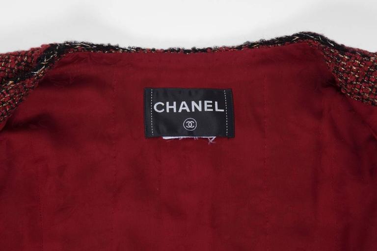 Chanel Runway Tweed Jacket, Fall-Winter 2011-2012  9