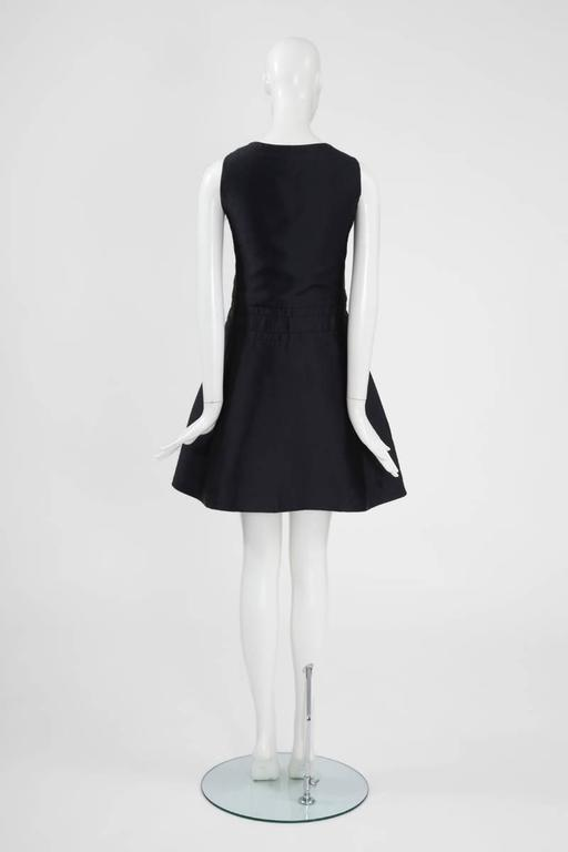 Numbered Jean Patou Silk Dress  For Sale 2