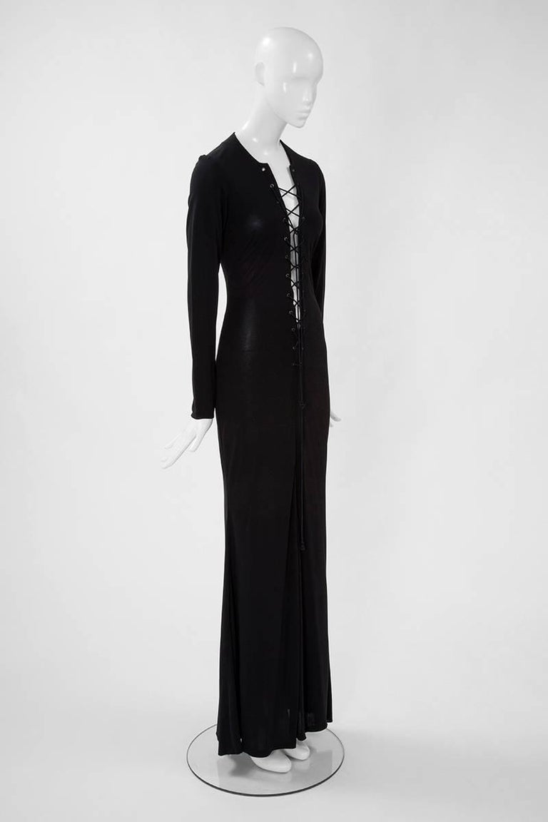 Yves Saint Laurent Saharienne Maxi Dress  In Excellent Condition For Sale In Geneva, CH