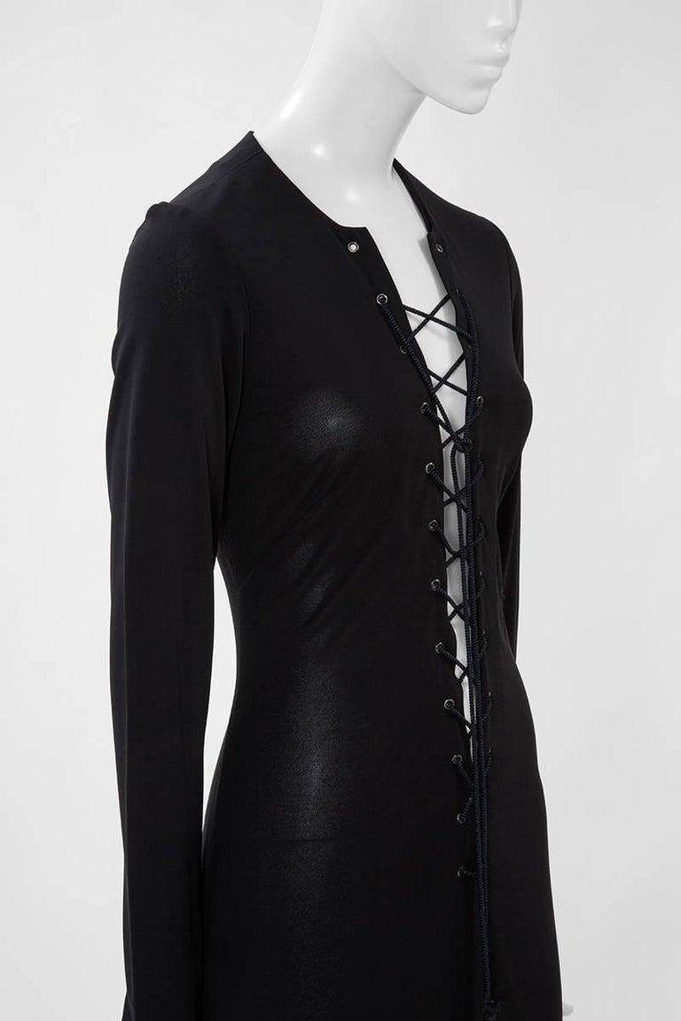 Women's Yves Saint Laurent Saharienne Maxi Dress  For Sale