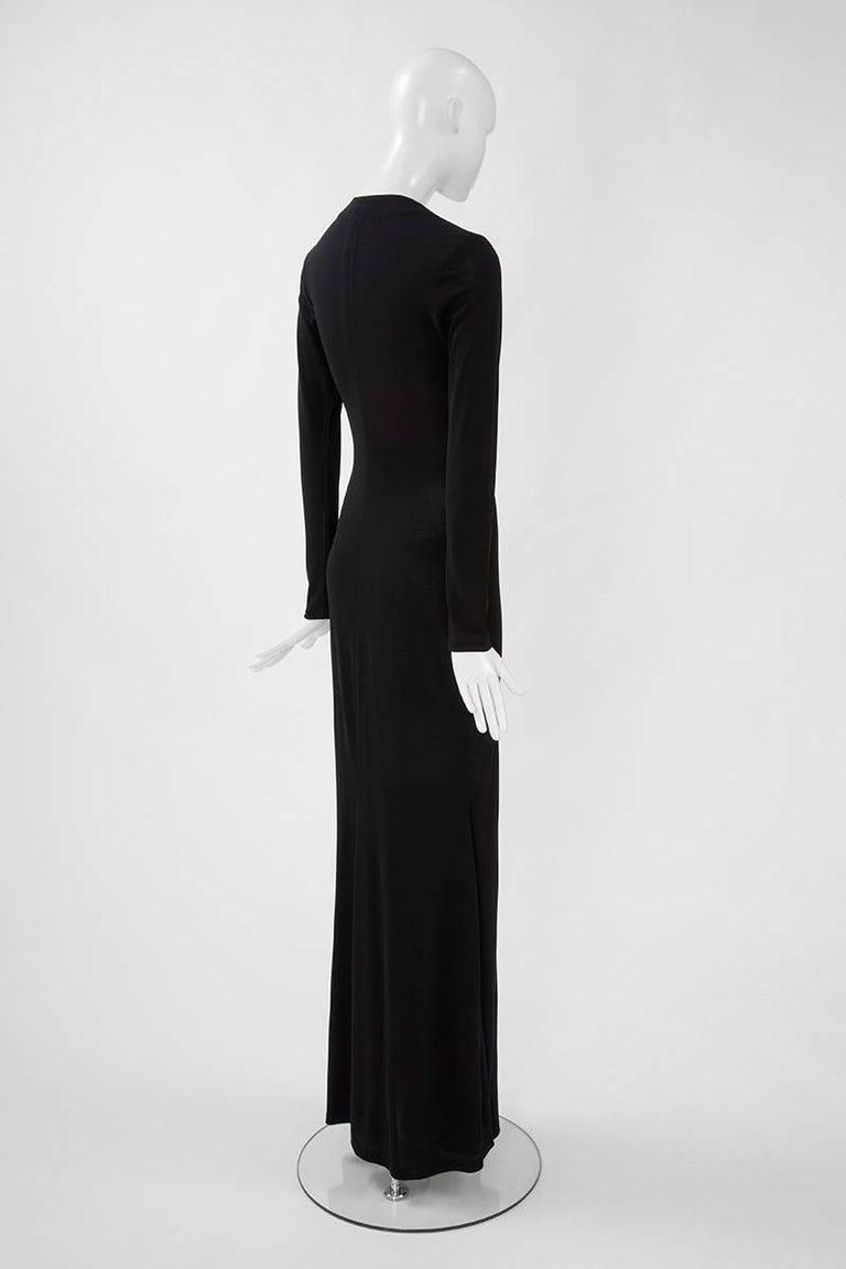 Yves Saint Laurent Saharienne Maxi Dress  For Sale 3