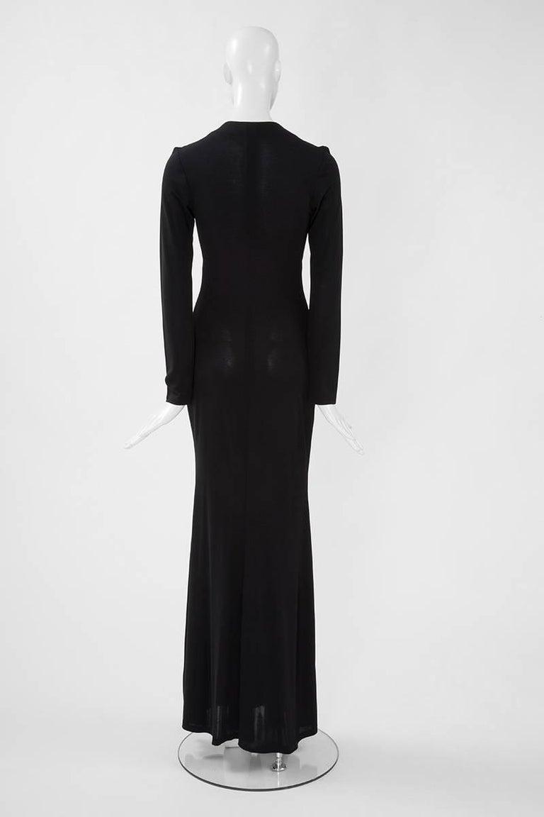 Yves Saint Laurent Saharienne Maxi Dress  For Sale 4