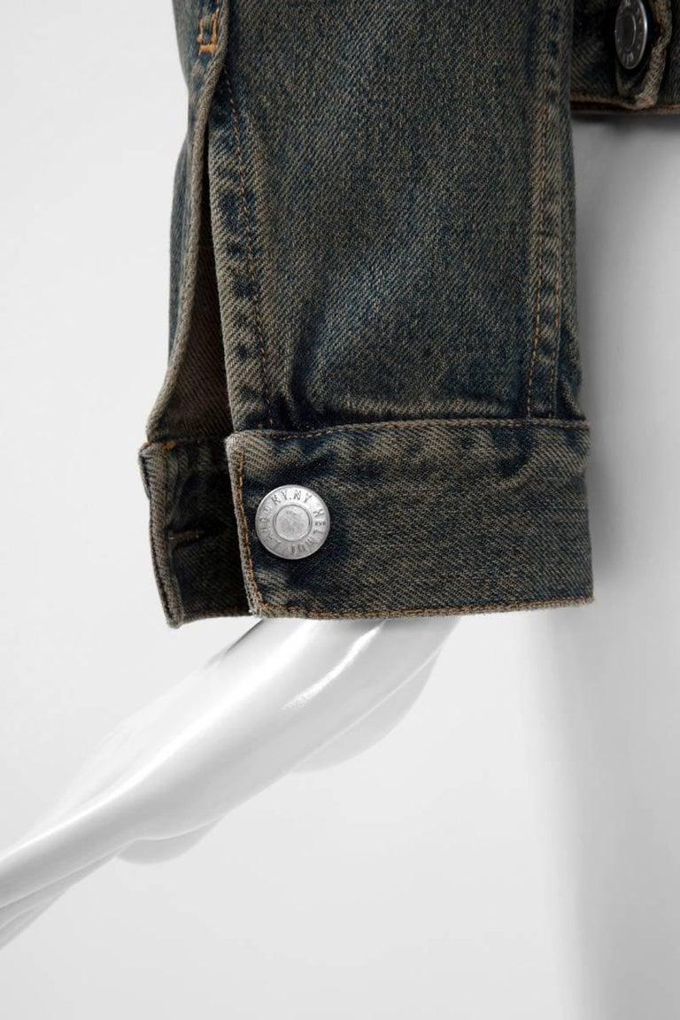 Women's or Men's Helmut Lang Denim Jacket  For Sale