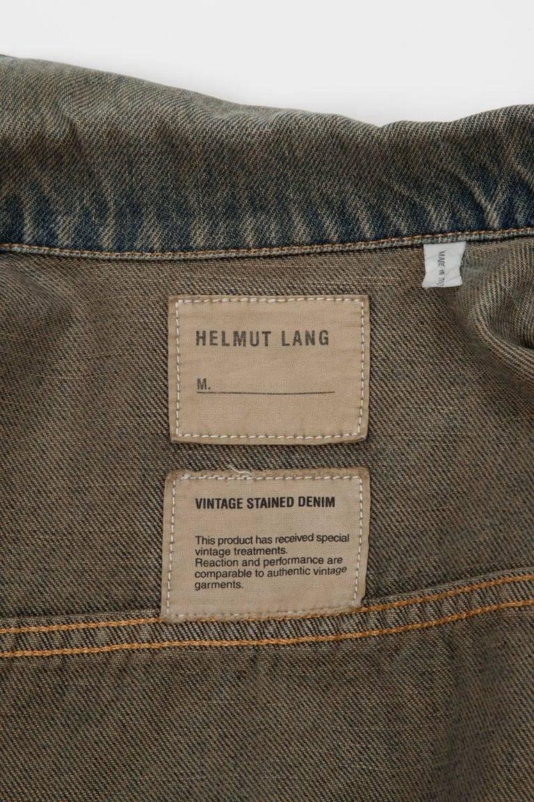Helmut Lang Denim Jacket  For Sale 2