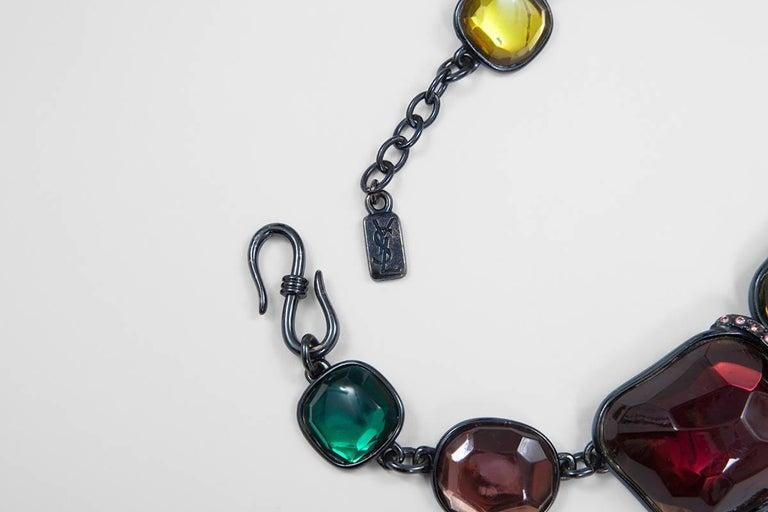 Women's Yves Saint Laurent Leaves Necklace For Sale