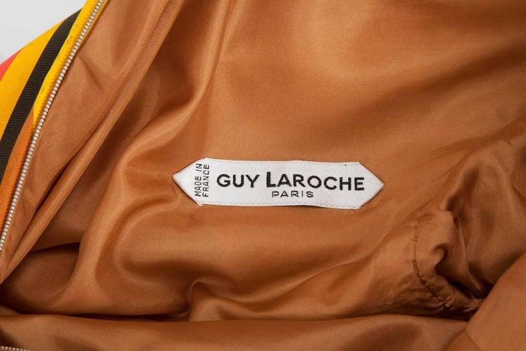 Guy Laroche Haute Couture Silk Dress, Spring-Summer 1967 For Sale 4