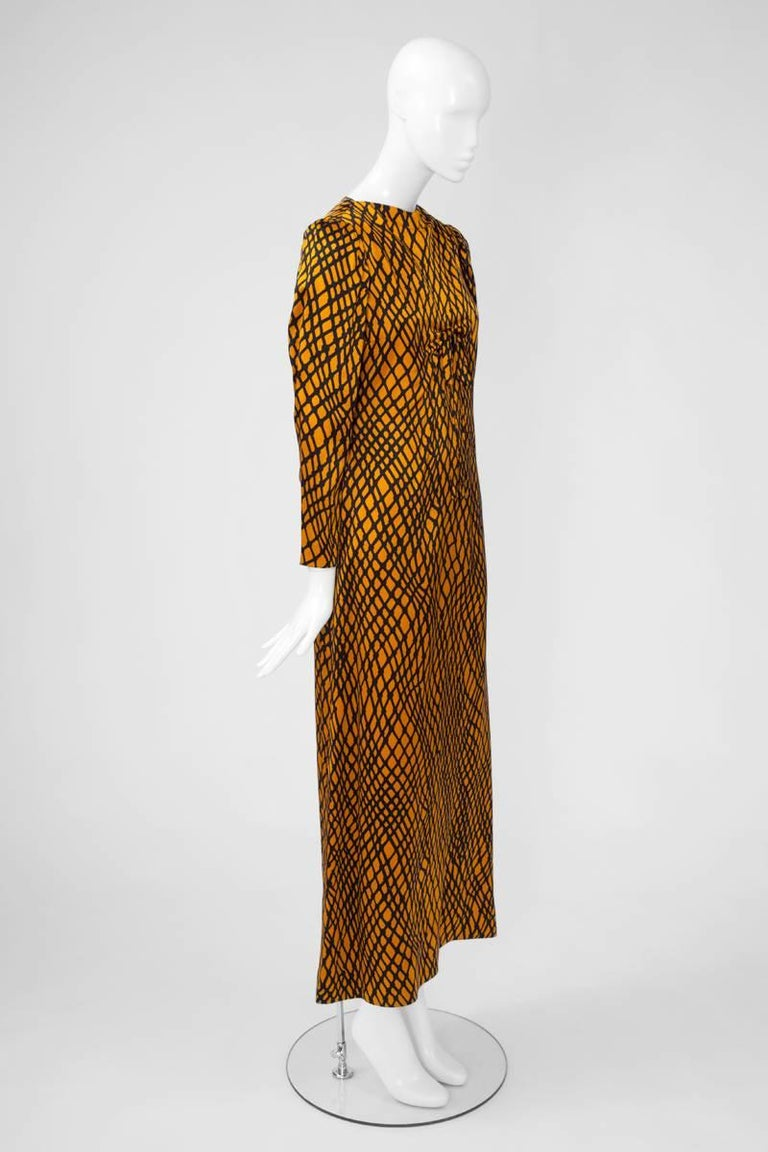1d7dd6e11c7 Yves Saint Laurent Patron Original Evening Dress In Excellent Condition For  Sale In Geneva, CH