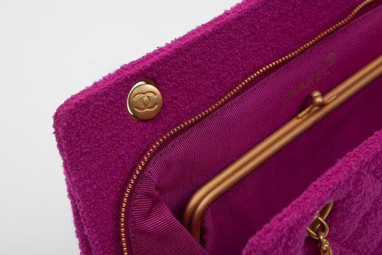 Chanel Tweed Shoulder Bag, Spring-Summer 1994  For Sale 2