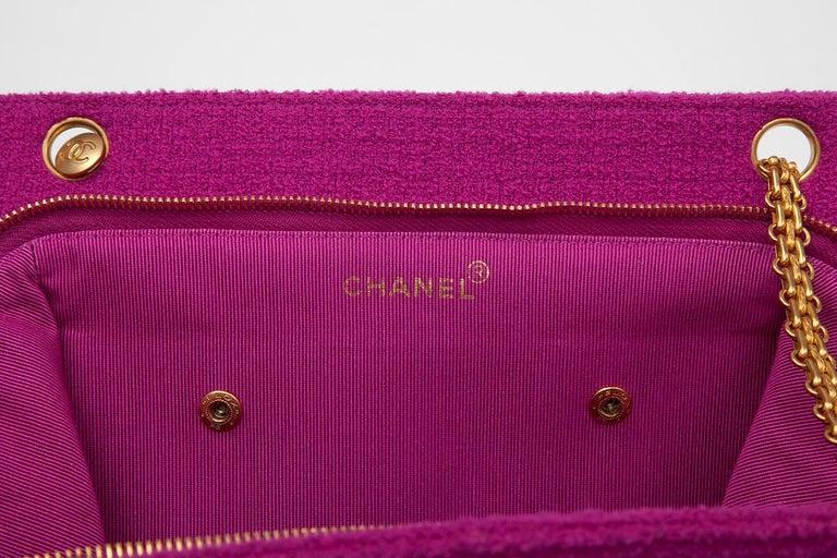 Chanel Tweed Shoulder Bag, Spring-Summer 1994  For Sale 5