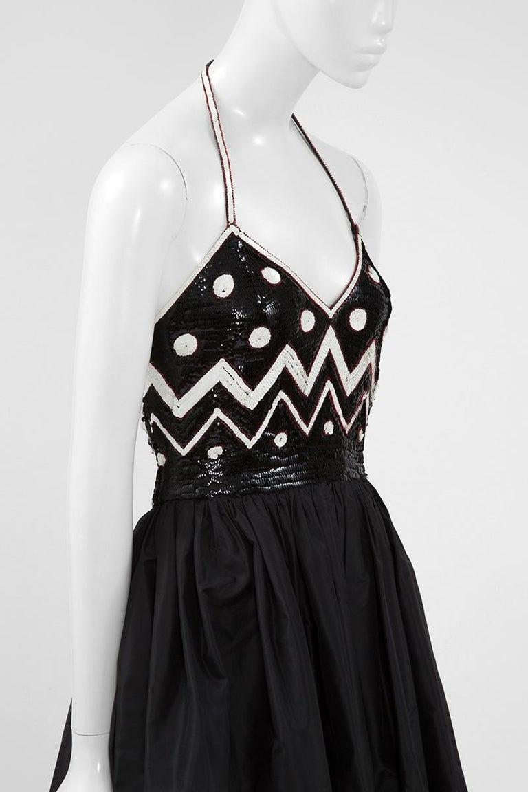Women's Alimia Haute Couture Halterneck Tulle Gown For Sale