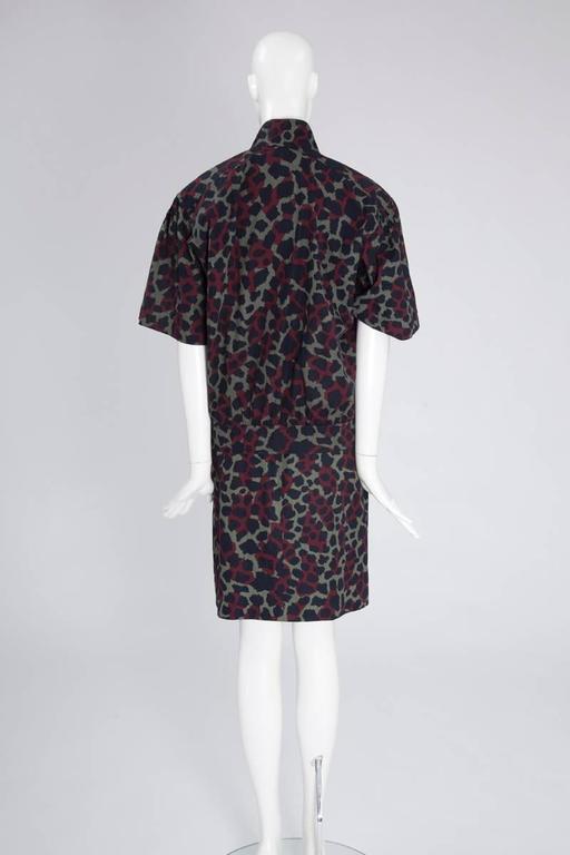 Women's Yves Saint Laurent Leopard Skirt Suit For Sale