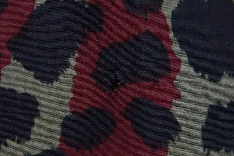 Yves Saint Laurent Leopard Skirt Suit For Sale 4