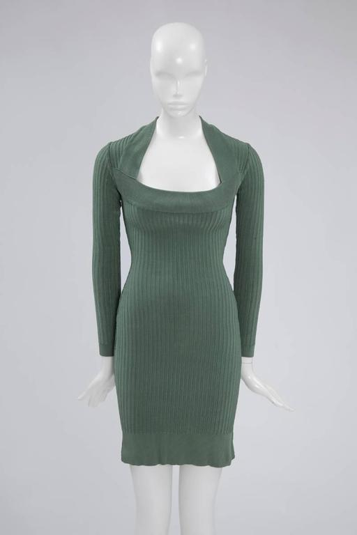 Alaïa Knit Sculptural Dress  2