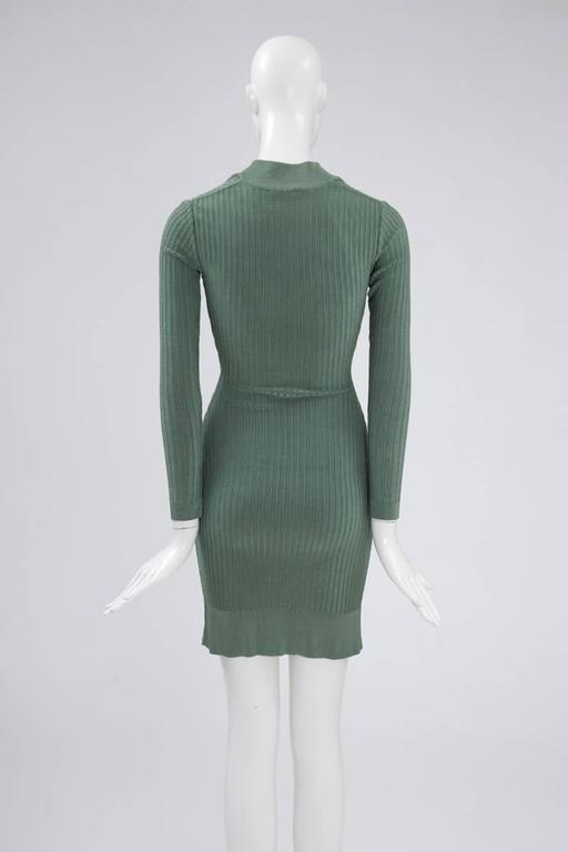 Alaïa Knit Sculptural Dress  6