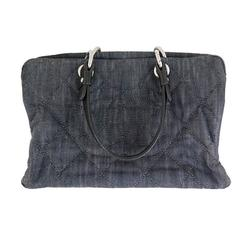Chanel Jumbo Denim 31 Rue Cambon Shopping Tote Bag