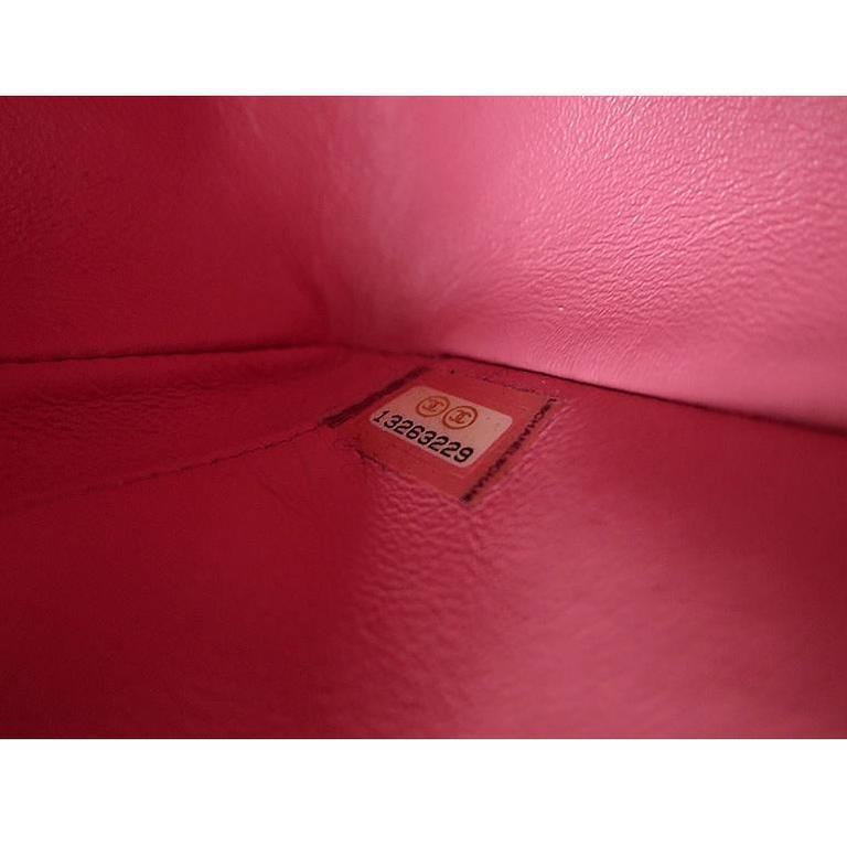 Chanel Ginza 5th Anniversary Black Patent Medium 2.55 Flap For Sale 6