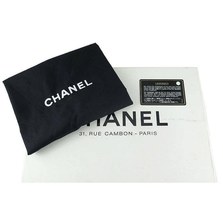 Chanel Reissue Silver Iridescent Calfskin 10inch Medium Clutch 9