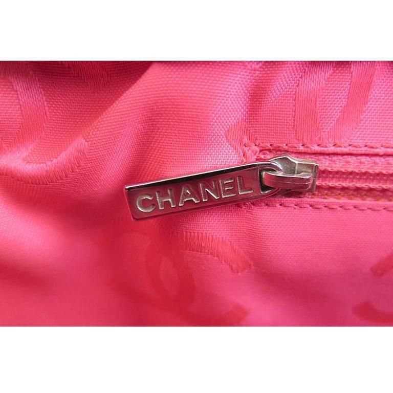 Chanel Jumbo Cambon Black Lambskin CC Shoulder Tote Bag For Sale 2