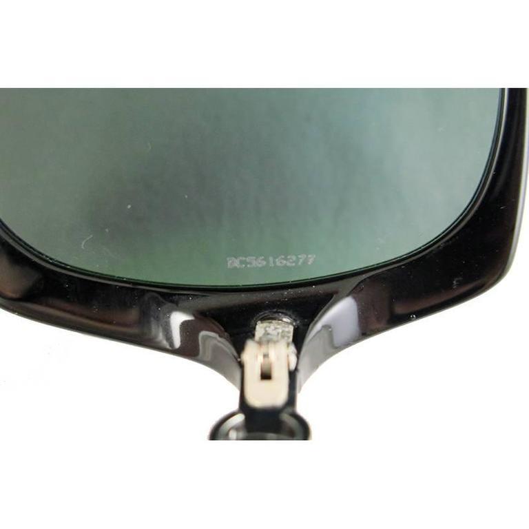 Chanel Black Silver CC Sunglasses Shades 7