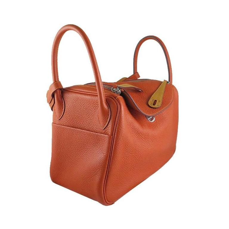 Hermes Lindy Two Tone