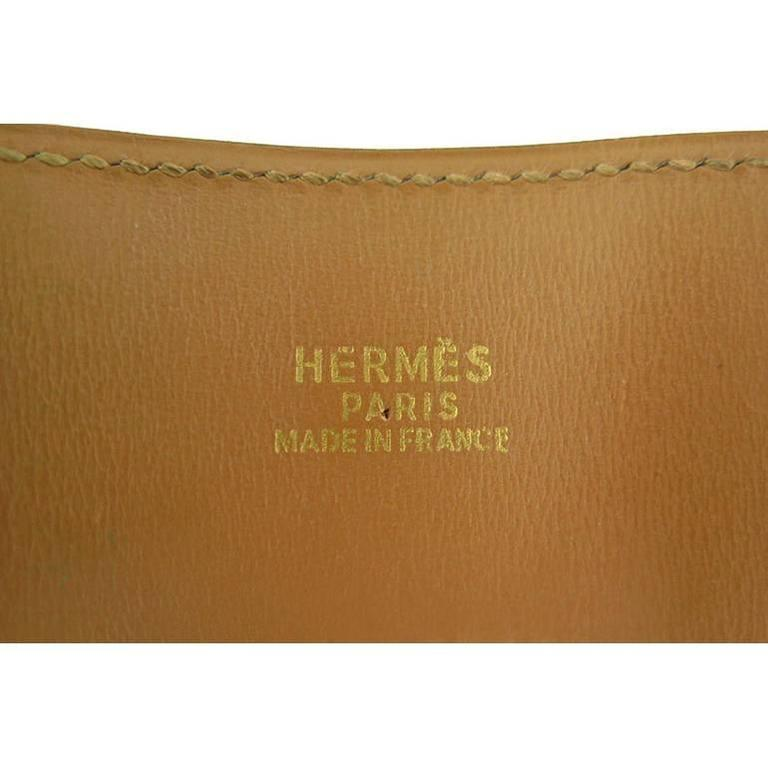 Hermes Red Cdc Collier De Chien Leather Gold Hardware Bracelet 3
