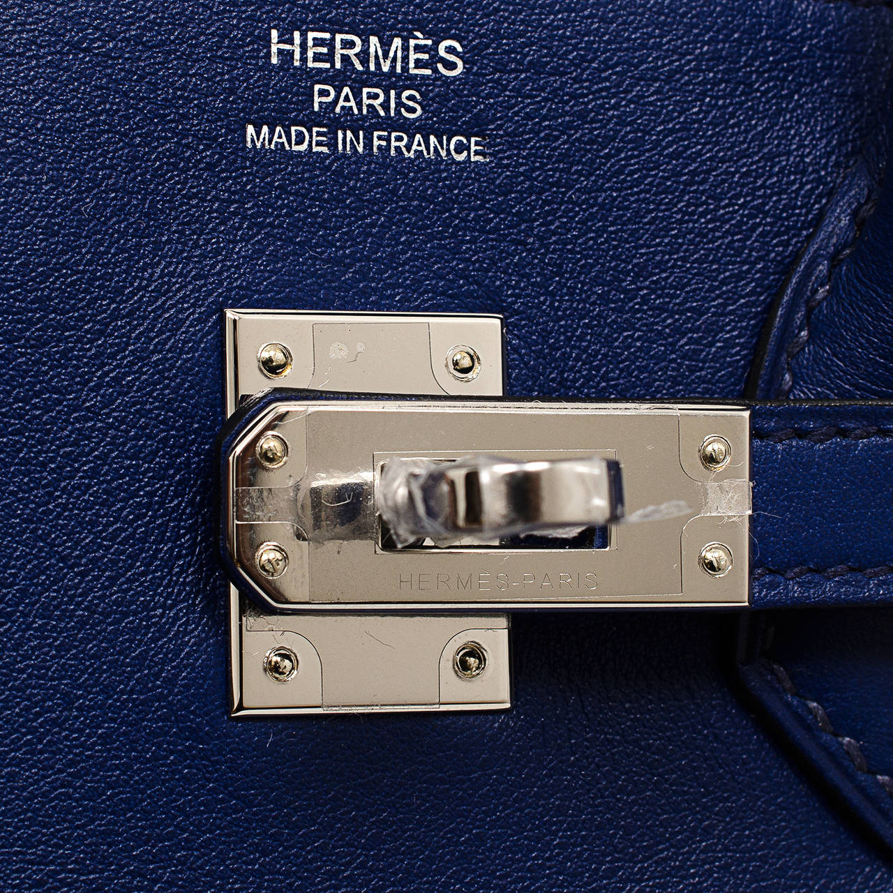 hermes kelly wallet - Hermes Blue Sapphire Swift Birkin 25cm Palladium Hardware at 1stdibs