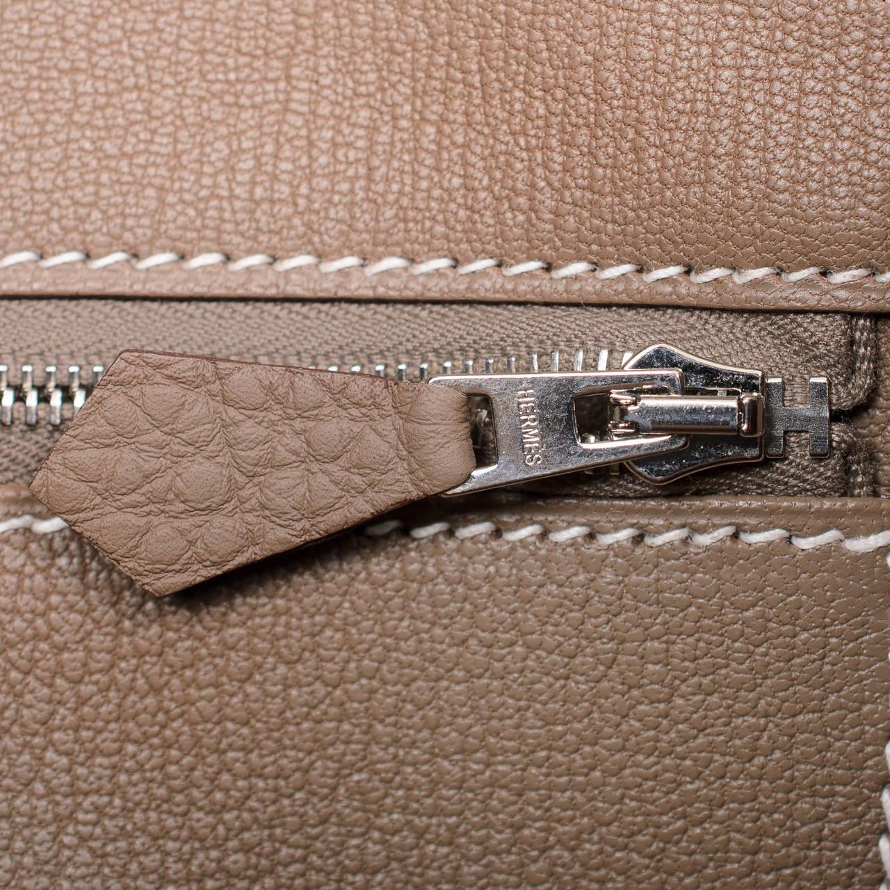 hermes birkin knock off - Hermes Etoupe Togo Birkin 35cm Palladium Hardware at 1stdibs