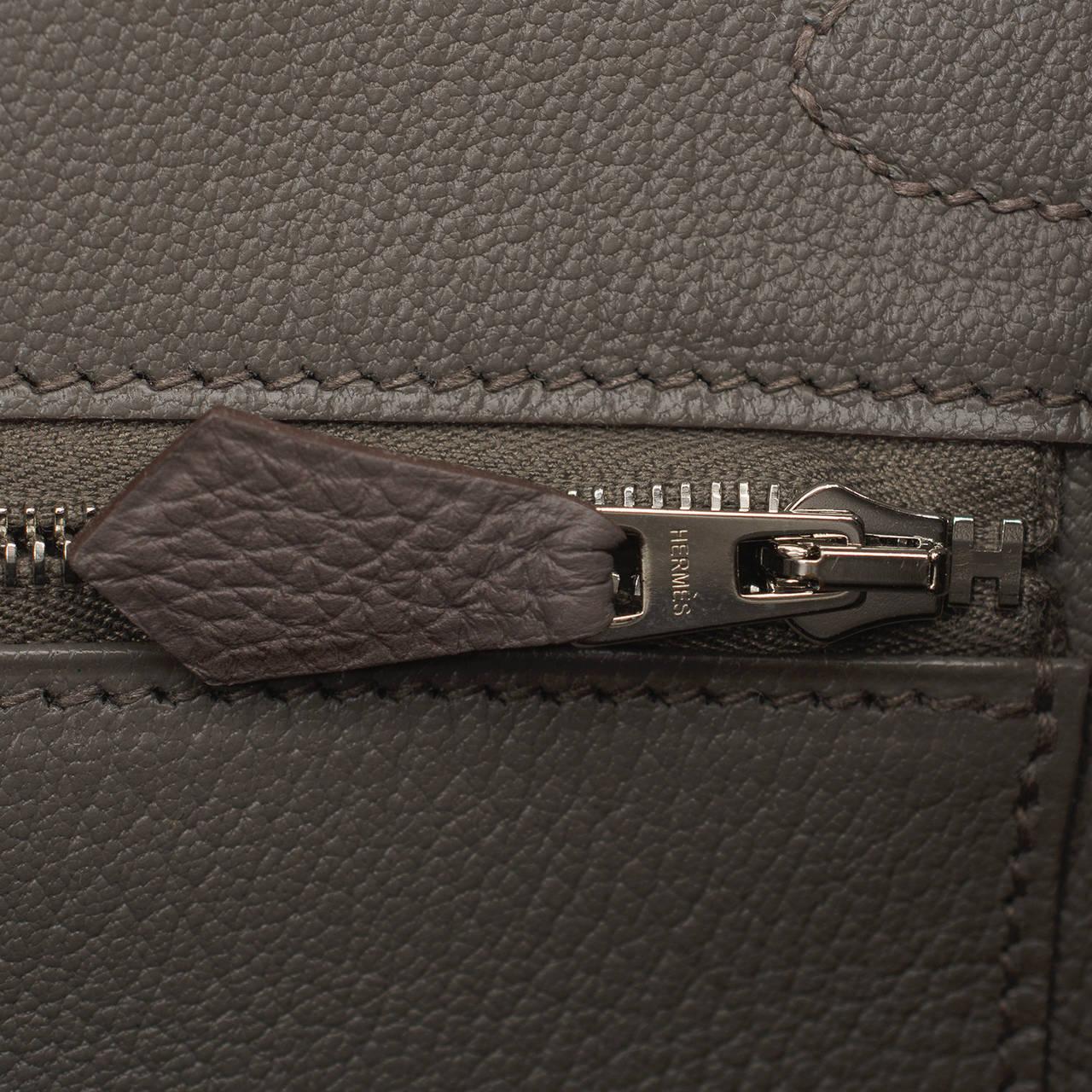birkin bags replica - Hermes Etain Togo Birkin 30cm Palladium Hardware at 1stdibs