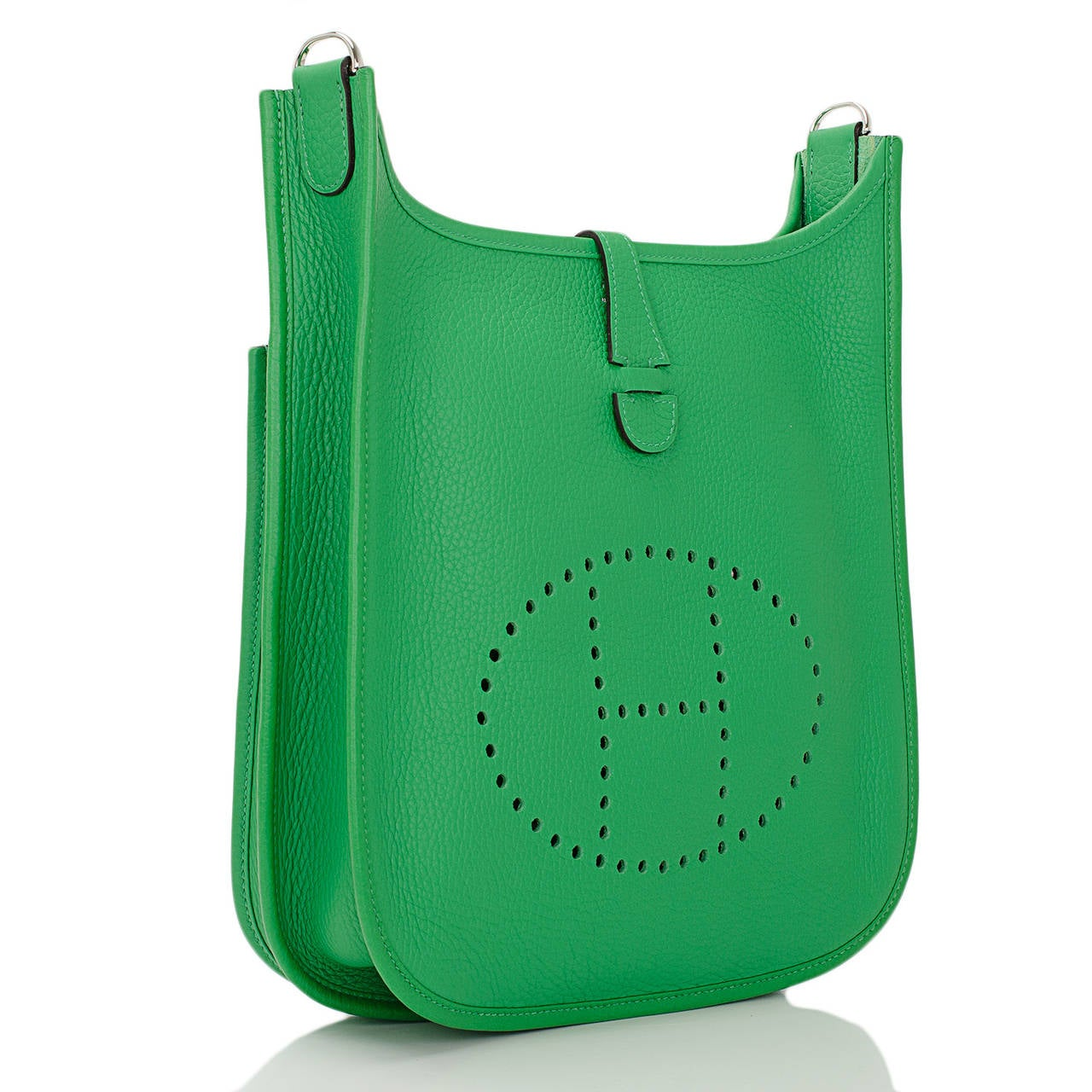 cheap hermes bags - Hermes Bamboo Clemence Evelyne III PM at 1stdibs