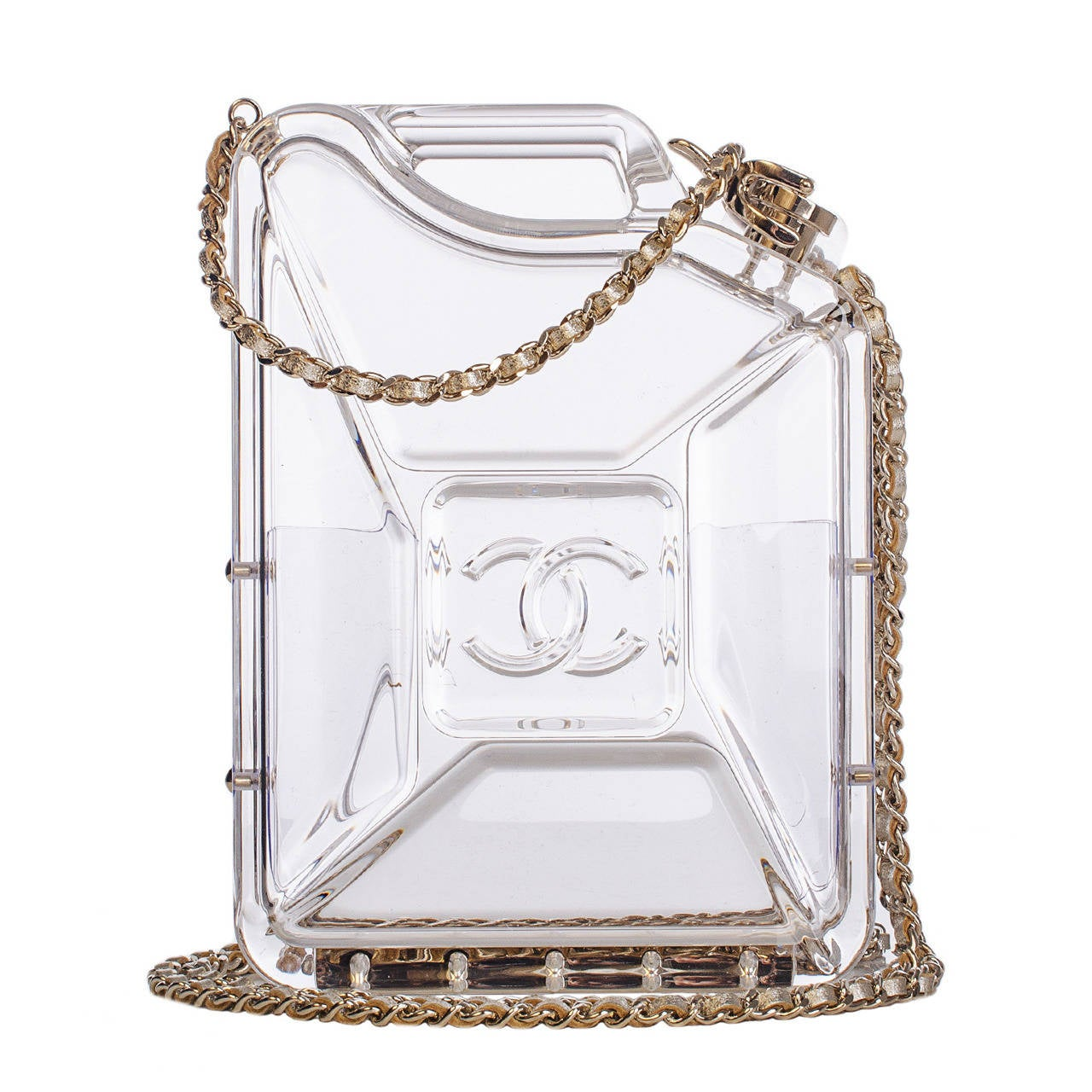 Chanel Dubai By Night Gas Tank Minaudiere Bag For Sale