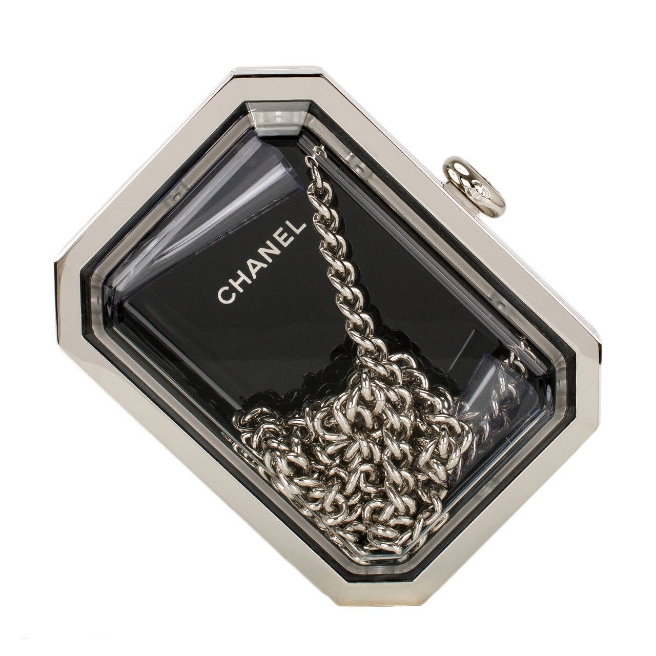 Chanel Premiere Watch Minaudiere Bag For Sale
