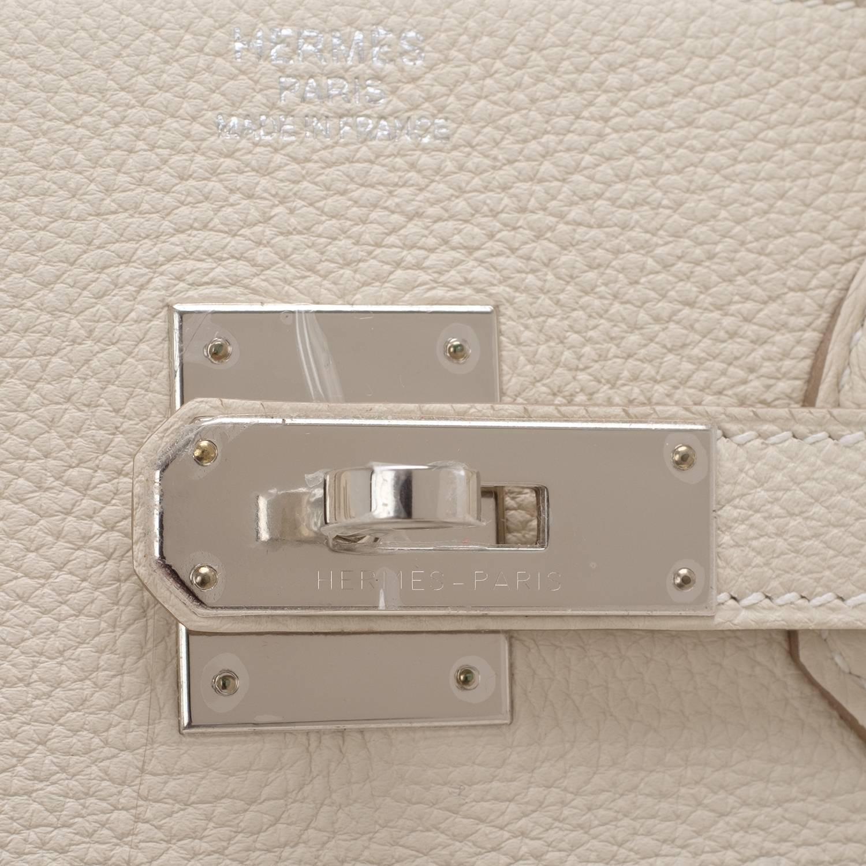 hermes pocketbook - hermes craie 28cm chalk togo kelly gold ghw