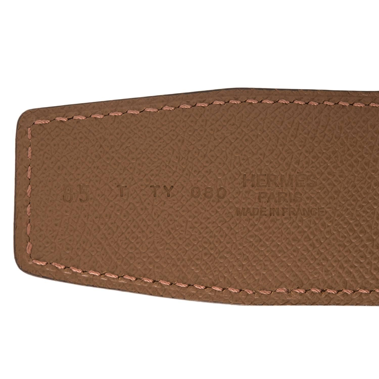 hermes birkin knock off - hermes h constance 2 belt 42 mm reversible leather in black tan ...
