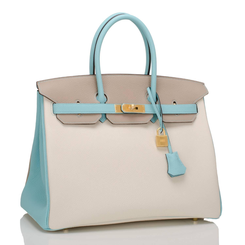 brown birkin bag - hermes gris tourterelle togo birkin with gold- grey 35 cm, kelly purse
