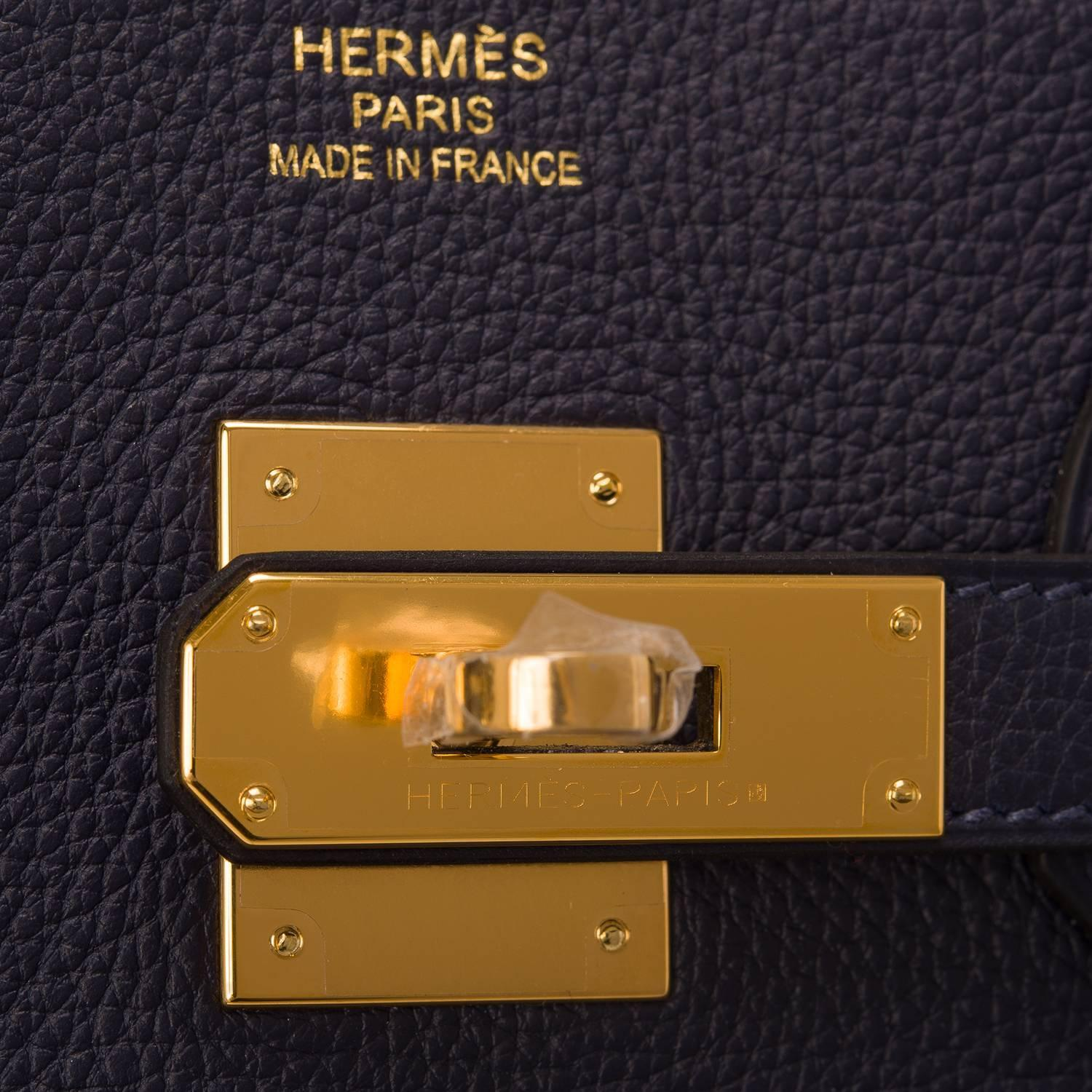 hermes kelly 28cm gold togo gold hardware 2016 x stamp never carried
