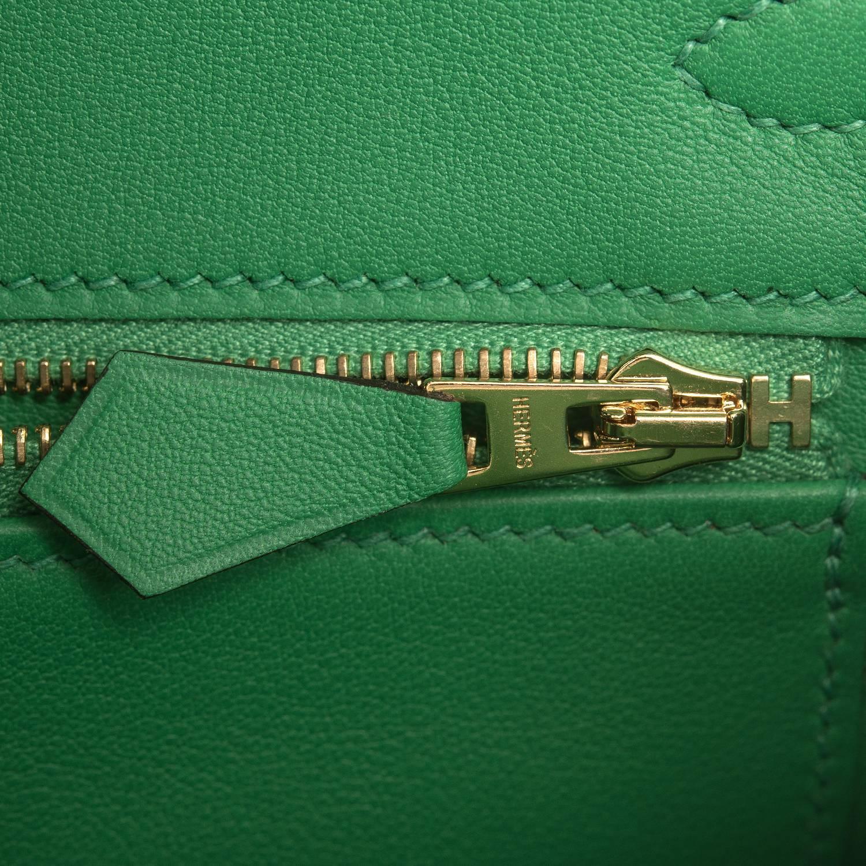 hermes blue paon epsom birkin 30cm gold hardware tote bag