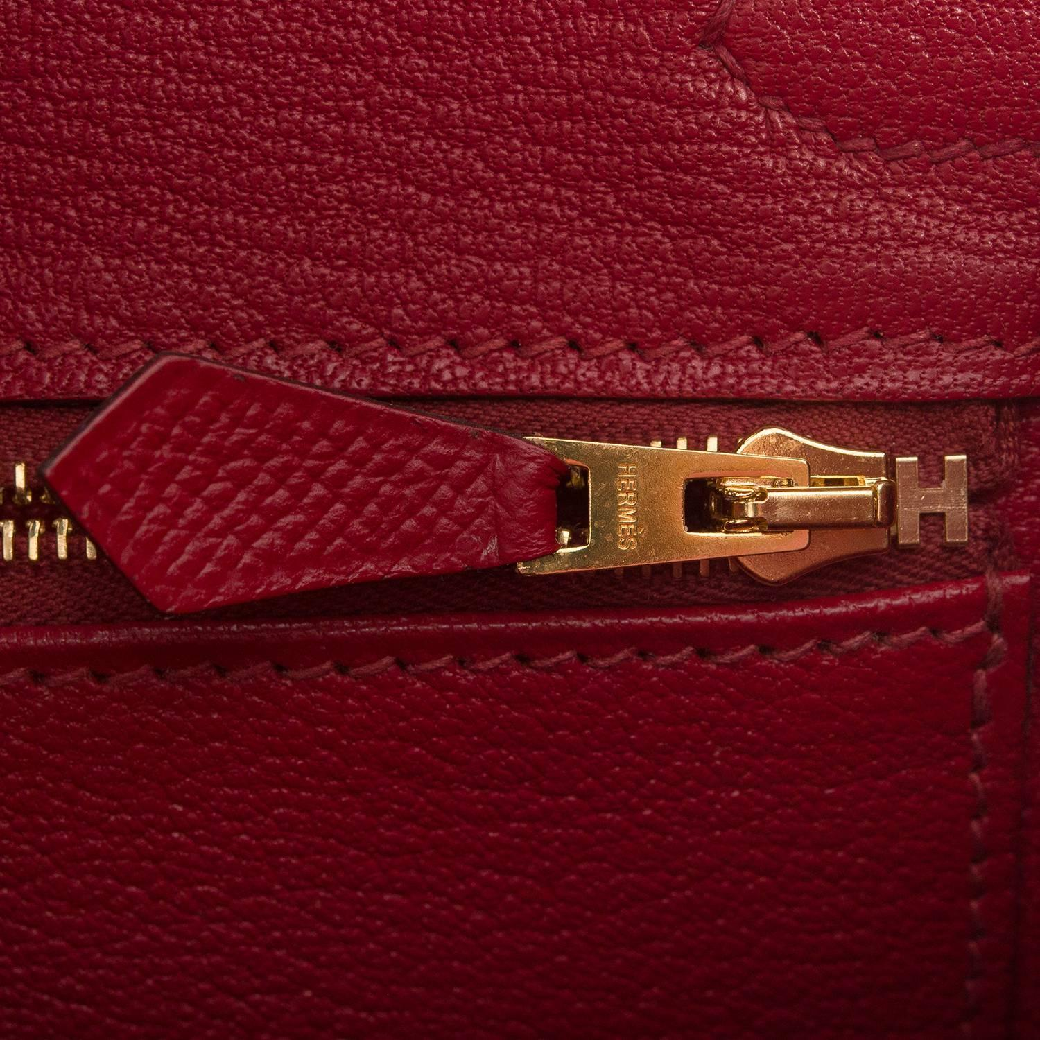 who makes birkin bags - Hermes Rouge Grenat Epsom Birkin 30cm Gold Hardware For Sale at ...