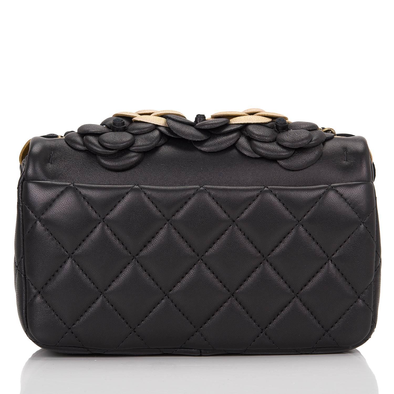 827aad384d3f Chanel Shoulder Bags Chanel Black & Gold Le Boy Bag