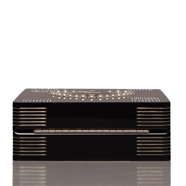 """Chanel """"Card"""" Casino Minaudiere In New never worn Condition For Sale In New York, NY"""