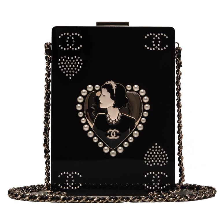 "Women's Chanel ""Card"" Casino Minaudiere For Sale"
