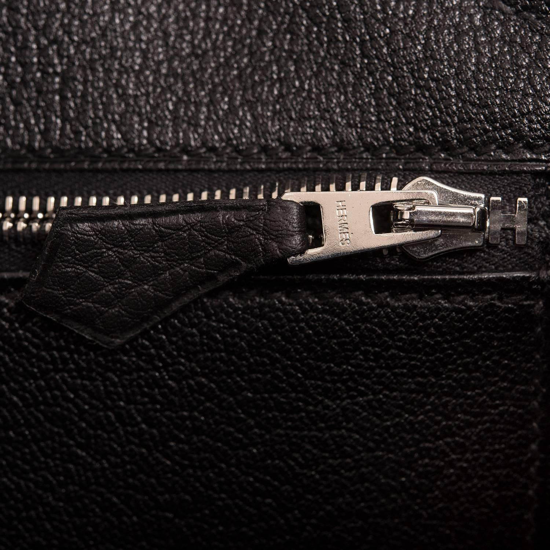 hermes black togo birkin 40cm gold hardware