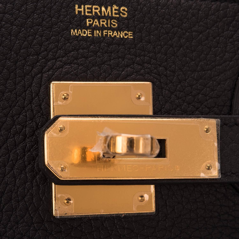 Hermes Alezan Togo Birkin 30cm Gold Hardware