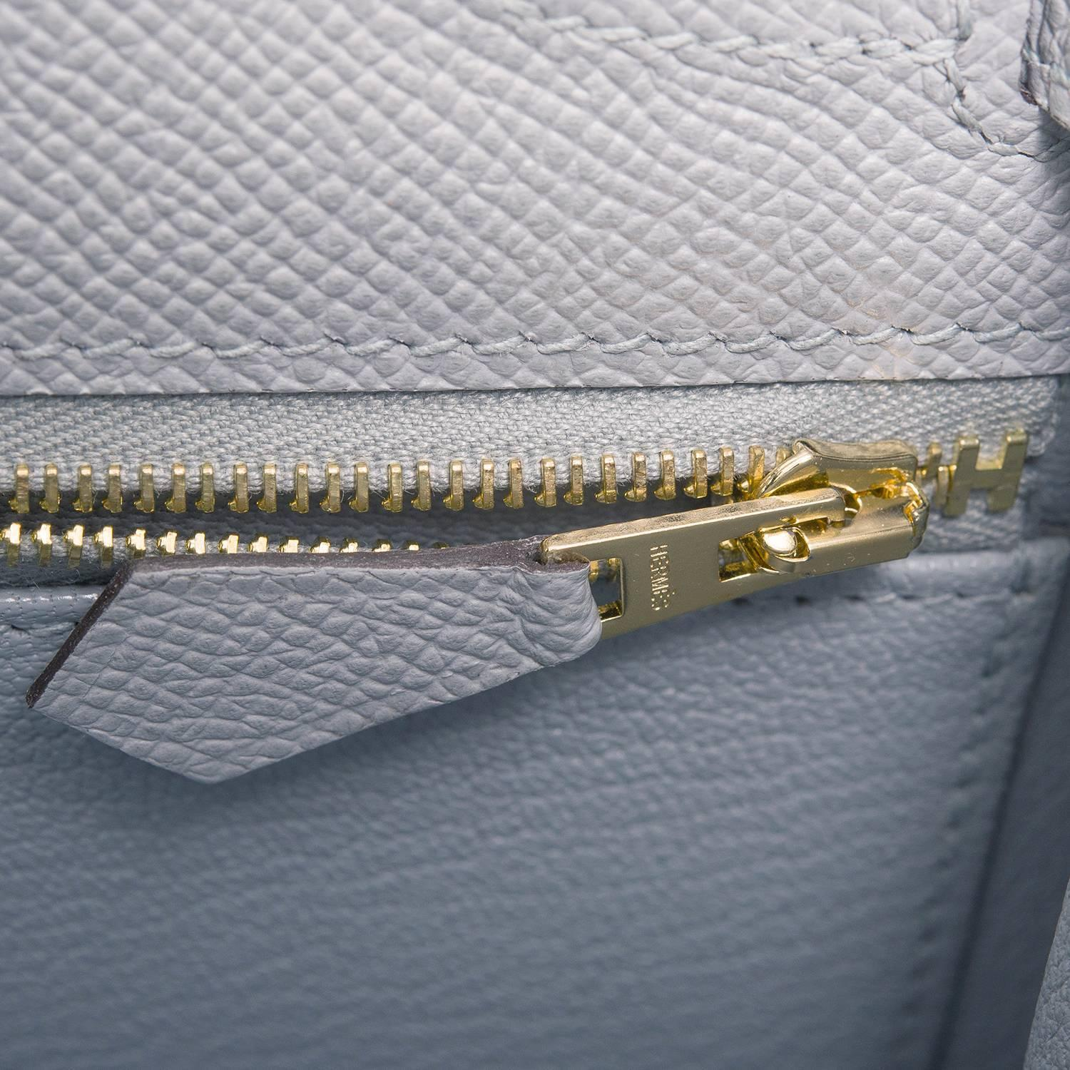 h hermes bags - Hermes Blue Glacier Epsom Sellier Kelly 28cm Gold Hardware at 1stdibs