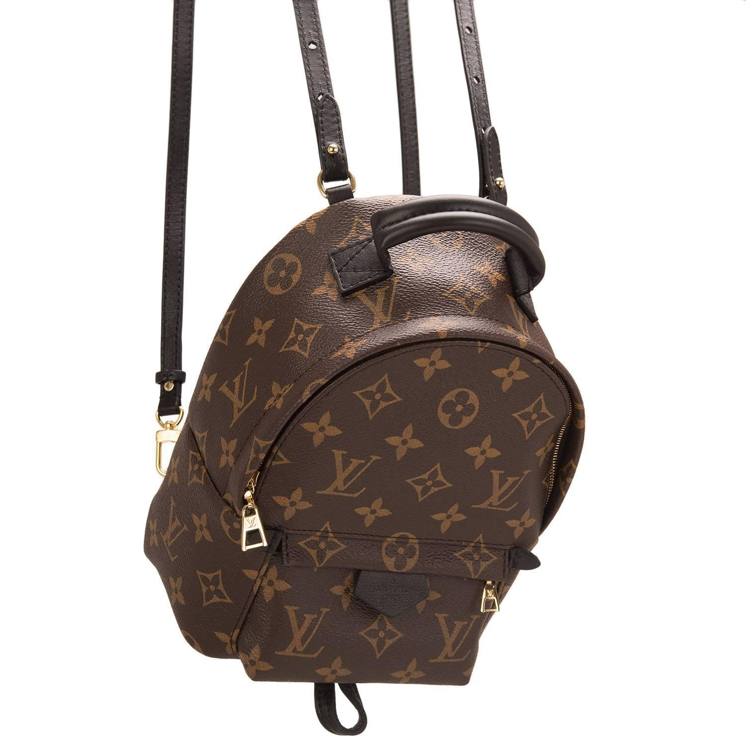 louis vuitton palm springs backpack mini at 1stdibs. Black Bedroom Furniture Sets. Home Design Ideas