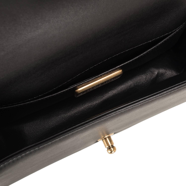 0138577ce2b7 Chanel Black Python Medium Boy Bag With Handle   Stanford Center for ...
