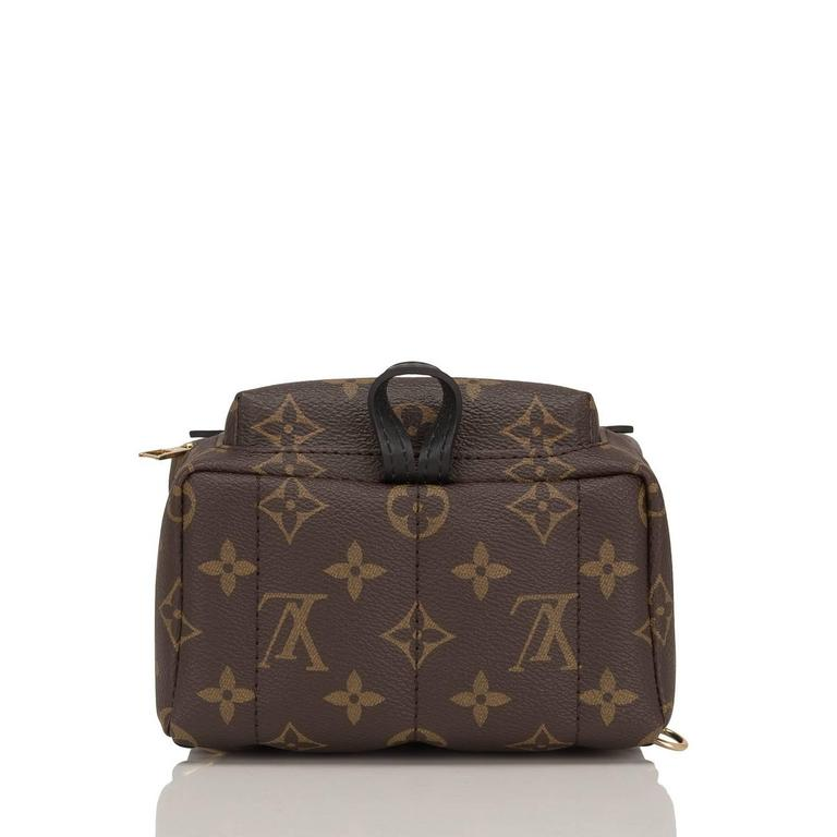 "Louis Vuitton Palm Springs ""World Tour"" Backpack Mini For Sale 1"