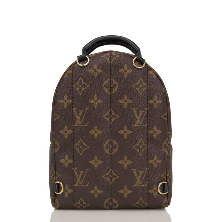 "Women's Louis Vuitton Palm Springs ""World Tour"" Backpack Mini For Sale"