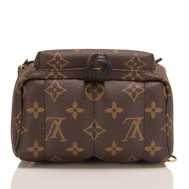 Louis Vuitton Palm Springs Backpack Mini In New Never_worn Condition For Sale In New York, NY