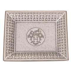 Hermes Mosaique au 24 Platinum Tray