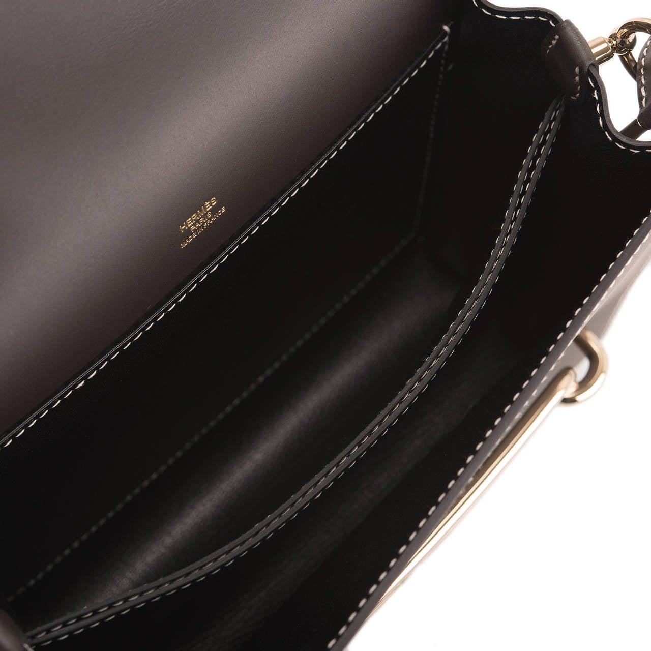 usl briefcase hermes - hermes bolide small fire orange